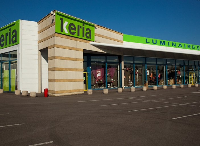 Branchement au centre commercial